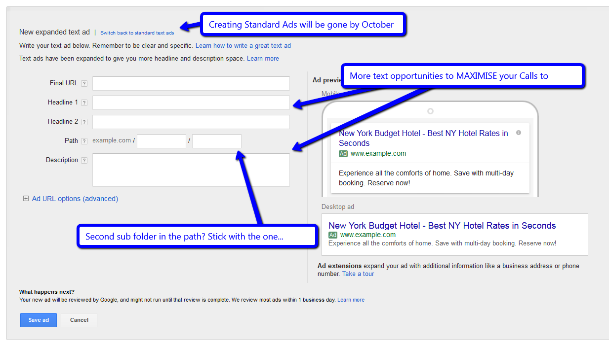 How to buy ad space on google