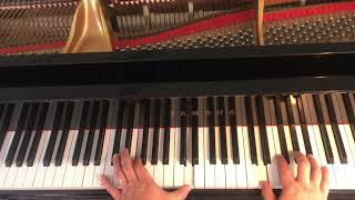 As long as you love me piano cover