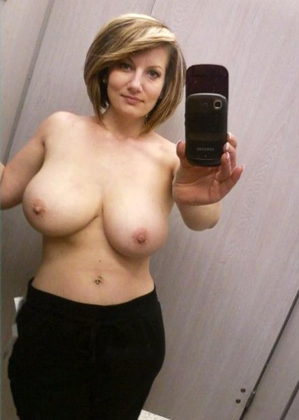 Fitting room boobs