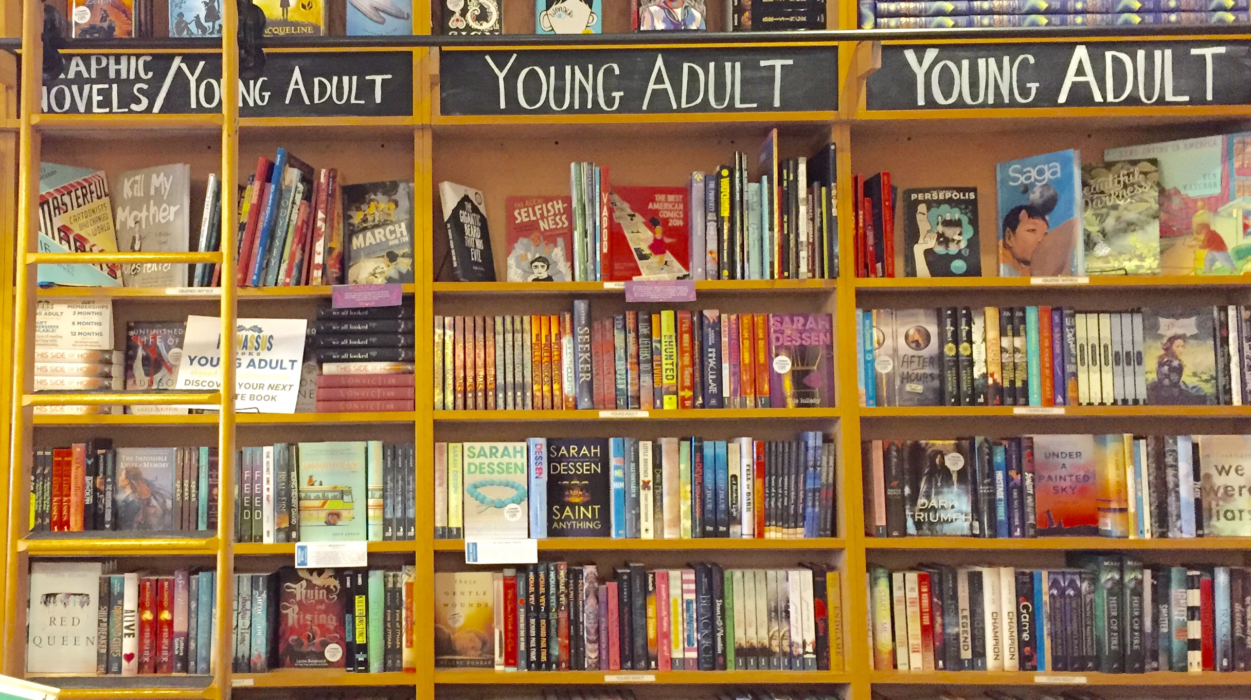 Women in adult bookstores