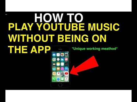 App to play youtube music