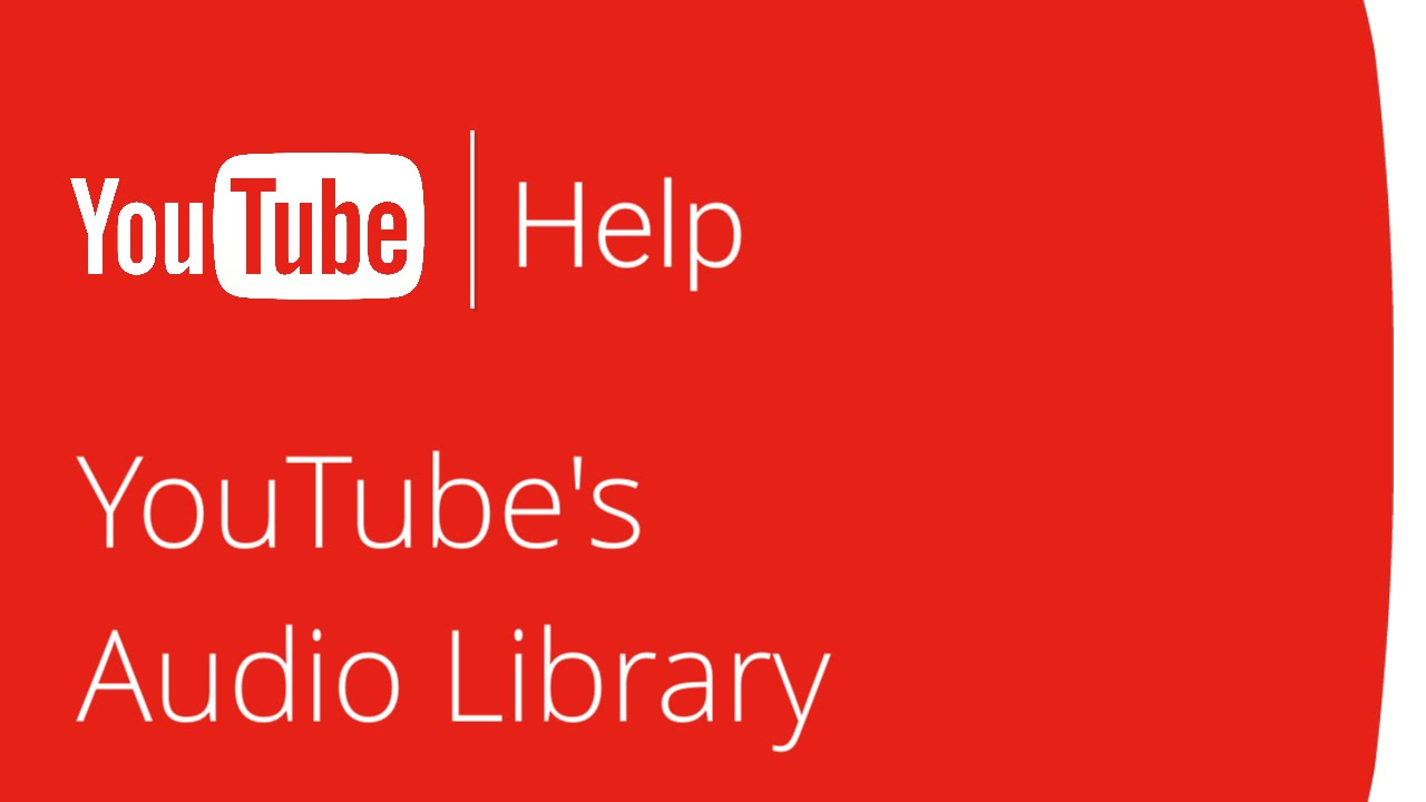 How does youtube audio library work