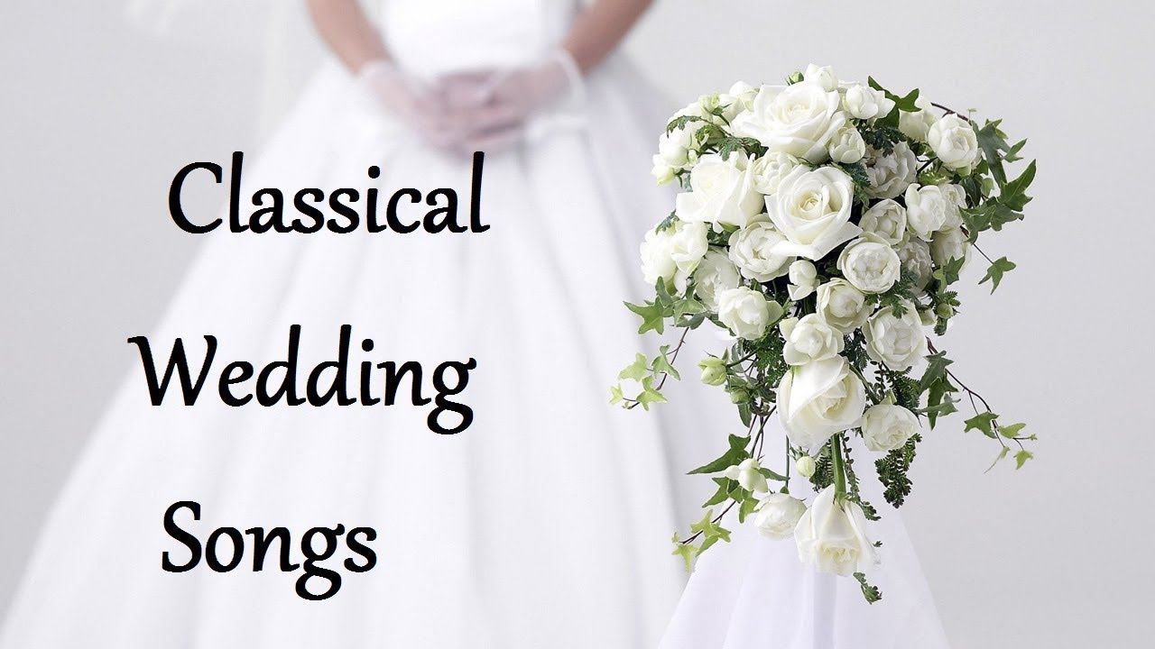 Most popular wedding songs to walk down the aisle