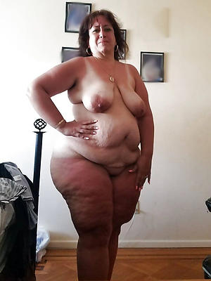Naked fat old ladies