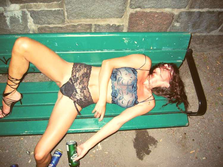 Pictures of drunk passed out girls