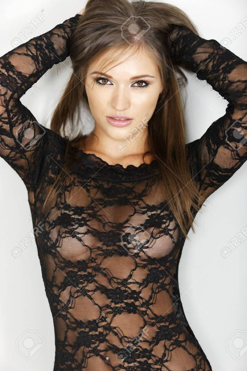 Sexy sheer lingerie pics